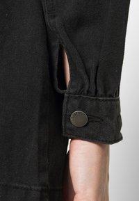 JDY - JDYSANSA BELTED JACKET  - Short coat - black - 4