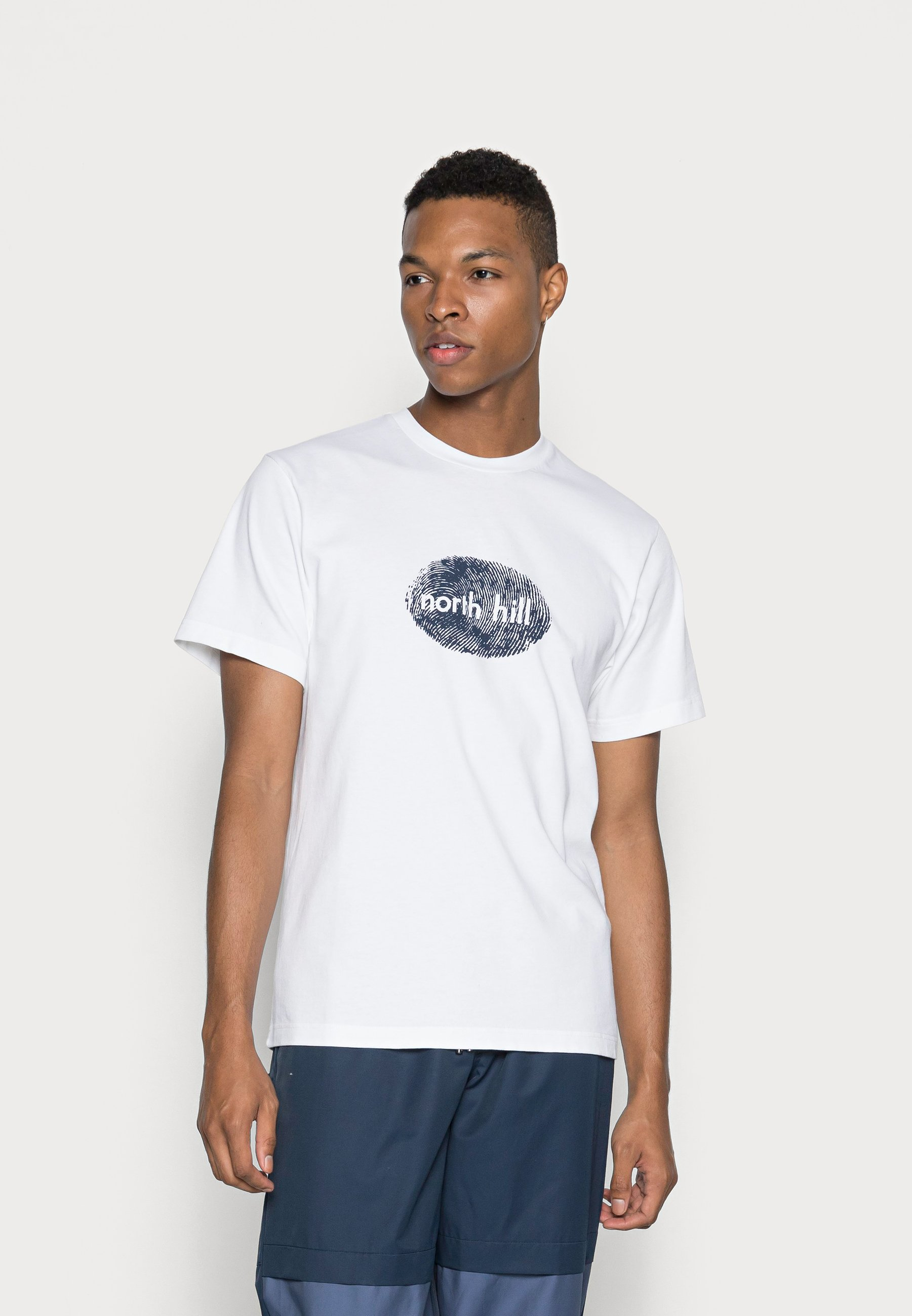 Homme FINGERPRINT TEE - T-shirt imprimé