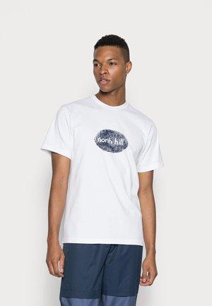 FINGERPRINT TEE - T-shirt print - white