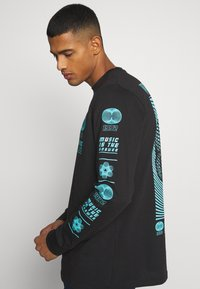 Urban Threads - GRAPHIC LONG SLEEVE TOP - Print T-shirt - black - 3