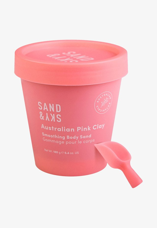 AUSTRALIAN PINK CLAY - SMOOTHING BODY SAND - Body scrub - -