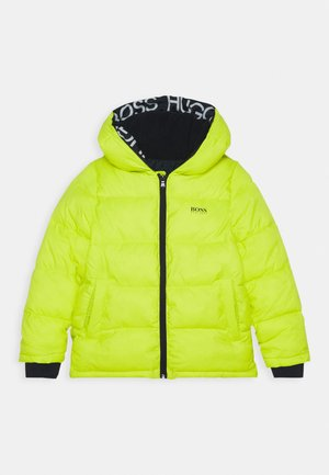 PUFFER JACKET - Zimní bunda - green lemon