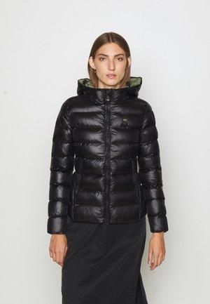 JACKET BICOLOR - Winter jacket - black