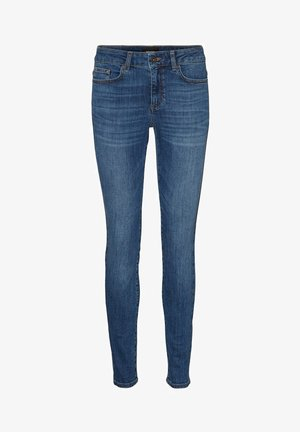 VMELLA - Slim fit jeans - medium blue denim