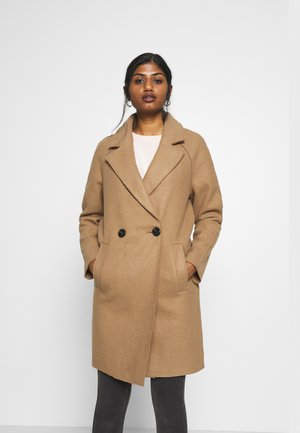 BERNA BONDED COAT - Mantel - toasted coconut