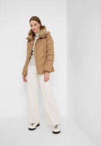 MICHAEL Michael Kors - FITTED PUFFER - Down jacket - dark camel - 1