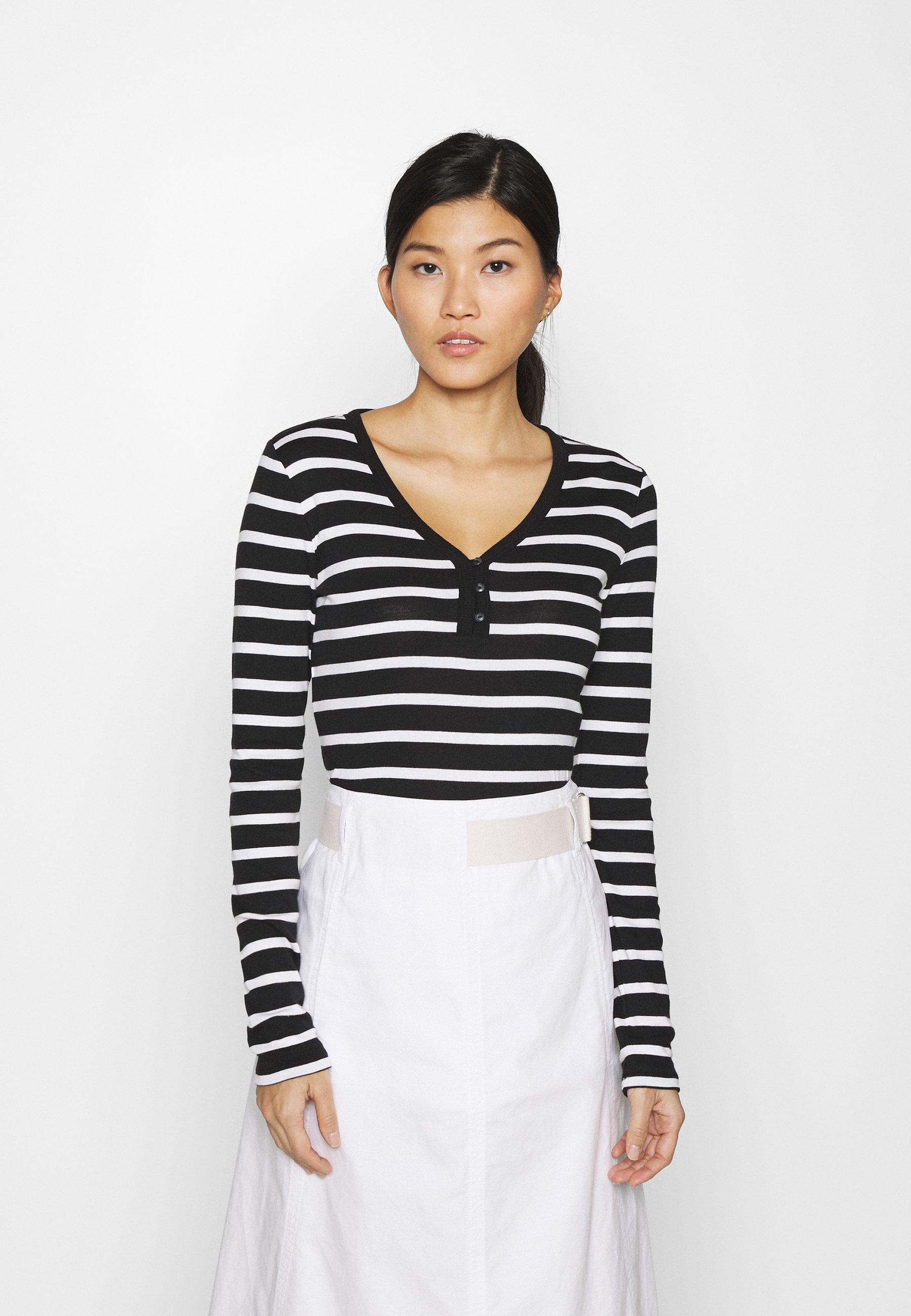 Women FAV HENLEY - Long sleeved top