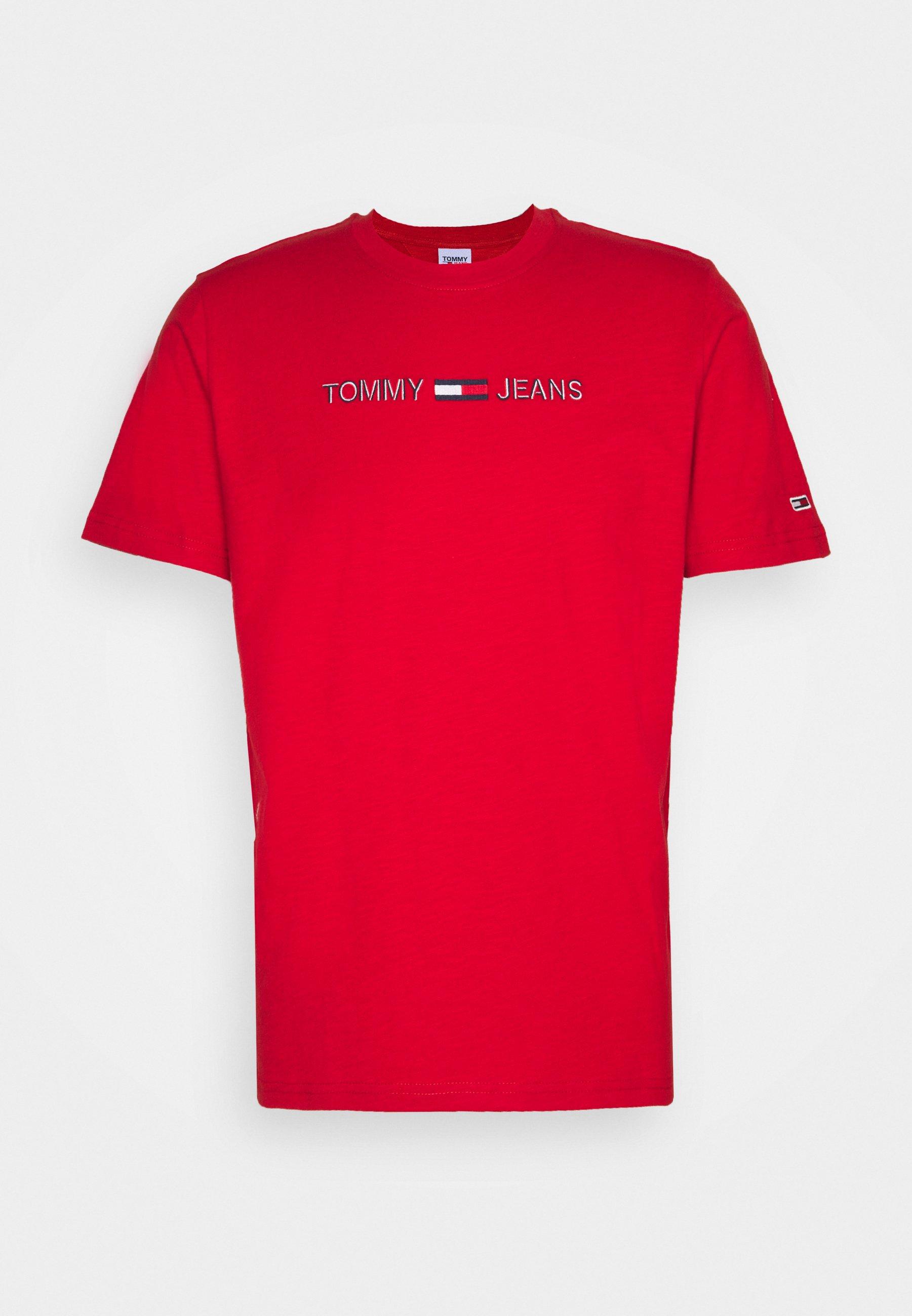 Men LINEAR LOGO TEE - Print T-shirt