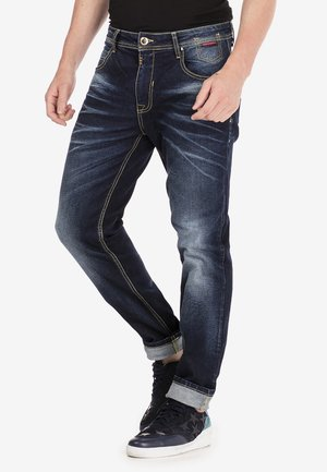 Relaxed fit jeans - darkblue