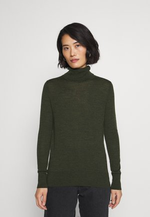 Strickpullover - forest green