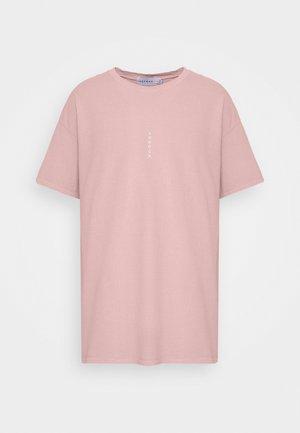 VERT LONDON TEE - T-shirt med print - pink