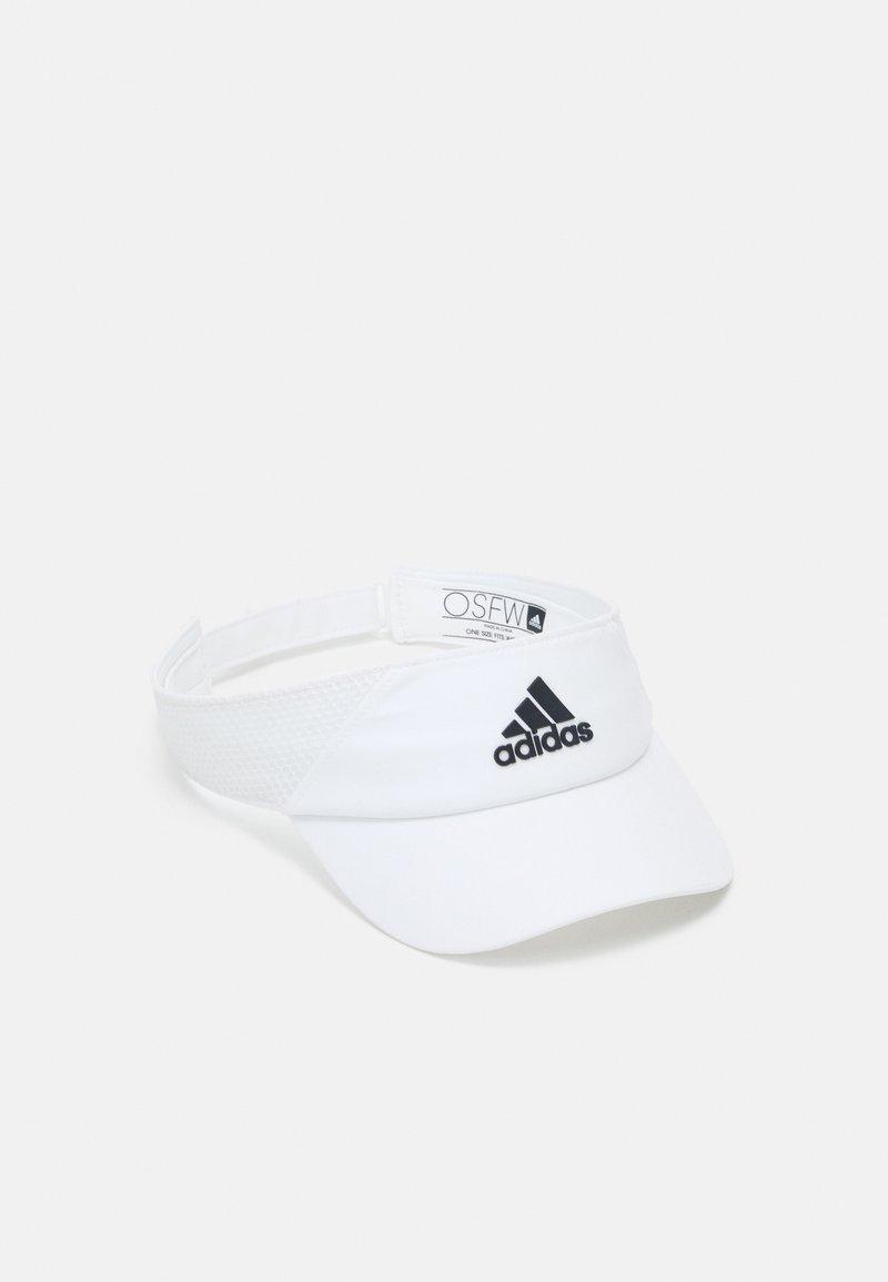 adidas Performance - VISOR UNISEX - Cap - white/black