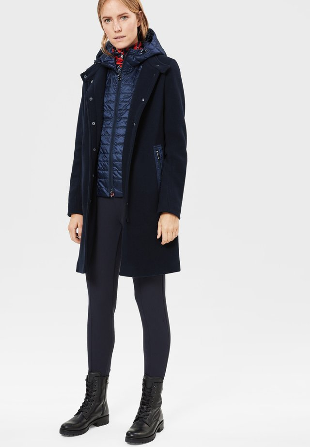 Down coat - navy-blau