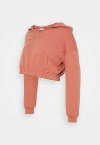 Pieces Maternity - PCMLINSA HOODIE LOUNGE - Sweatshirt - desert sand - 0