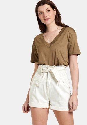 SPICE TEE - T-shirt basic - brown