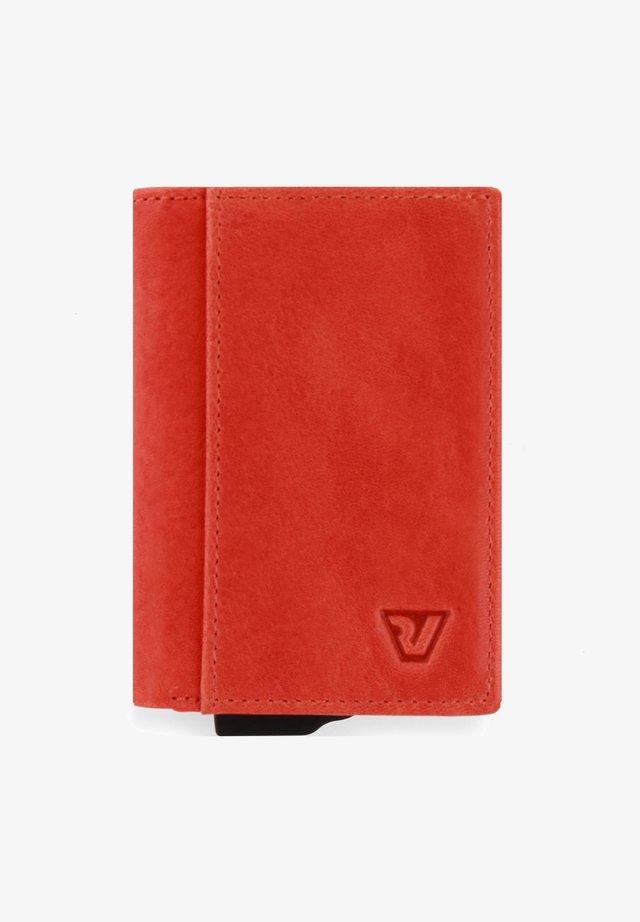 LIBRO IRON - Business card holder - arancio