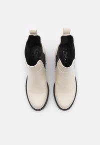 ONLY SHOES - ONLBARBARA CHELSEA BOOTIE  - Platform ankle boots - beige - 5