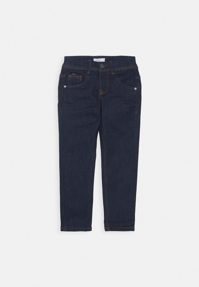 Name it - NKMBABU DNMTEJAS PANT - Straight leg jeans - dark blue denim
