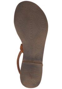 Lazamani - T-bar sandals - tan - 2
