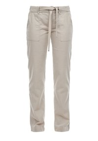 QS by s.Oliver - Trousers - latte - 2