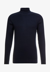 SLHCARLOS CABLE ROLL NECK W - Jumper - sky captain