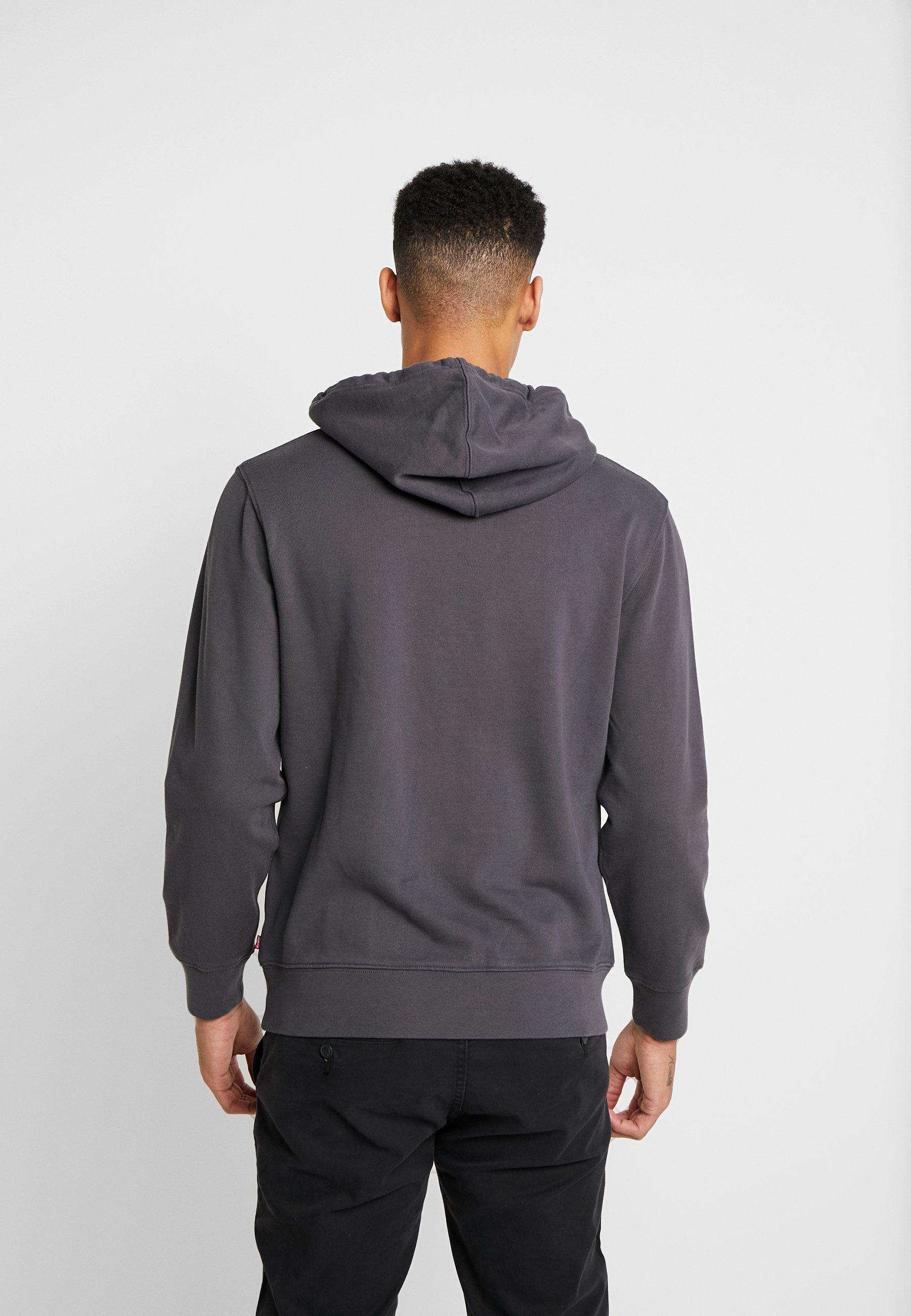 Täydellinen Miesten vaatteet Sarja dfKJIUp97454sfGHYHD Levi's® GRAPHIC HOODIE Huppari dark grey