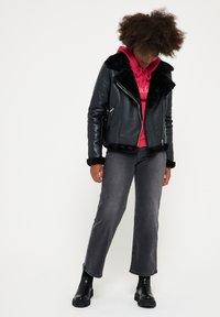 LolaLiza - Faux leather jacket - black - 4