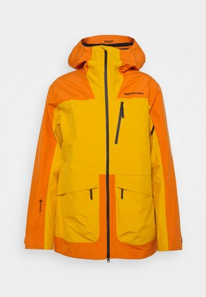 VERTICAL JACKET - Giacca hard shell - orange altitude