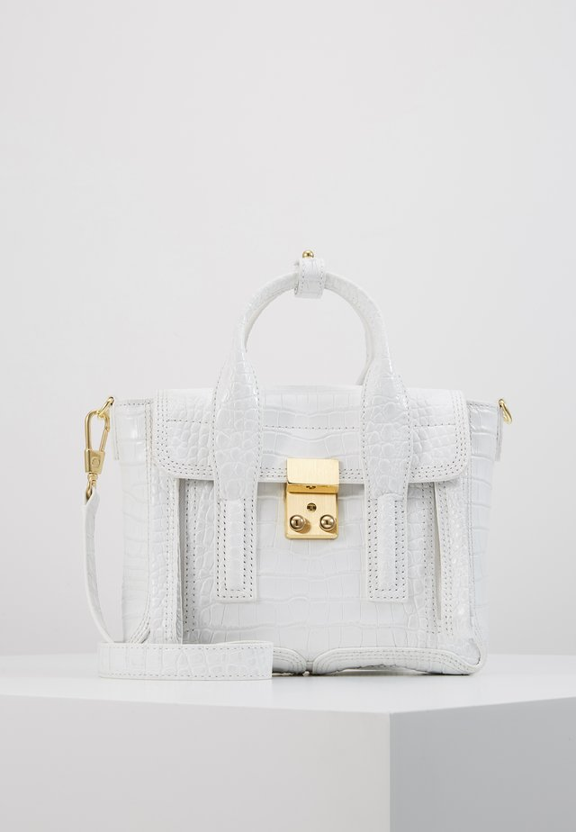 PASHLI MINI SATCHEL - Käsilaukku - white