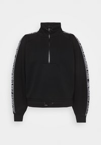KARL LAGERFELD - DOUBLE CROPPED - Sweatshirt - black - 4