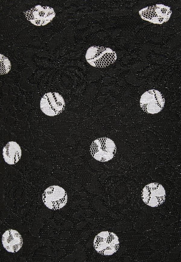 Guess SHARY - T-shirt z nadrukiem - black/czarny FEBL