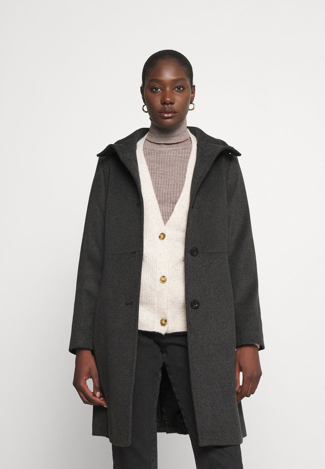 BASIC COAT - Manteau classique - anthracite