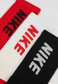 Nike Performance - EVERY CUSH 3 PACK - Sports socks - black - 2