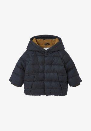 MIT KAPUZE - Winter jacket - grau meliert