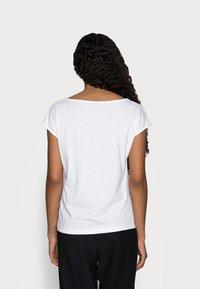 Anna Field Petite - 2 PACK - Jednoduché triko - black/white - 2