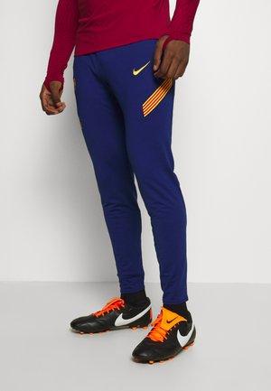 FC BARCELONA DRY PANT - Klubbkläder - deep royal blue/amarillo