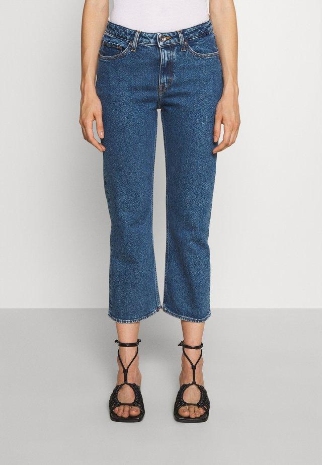 AZE        - Flared Jeans - medium blue