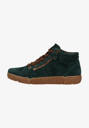 High-top trainers - peacock