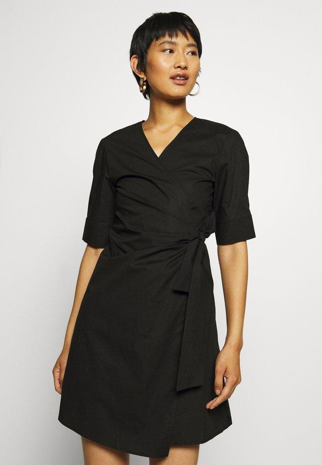 ALTHEA SHORT DRESS  - Vestido informal - black