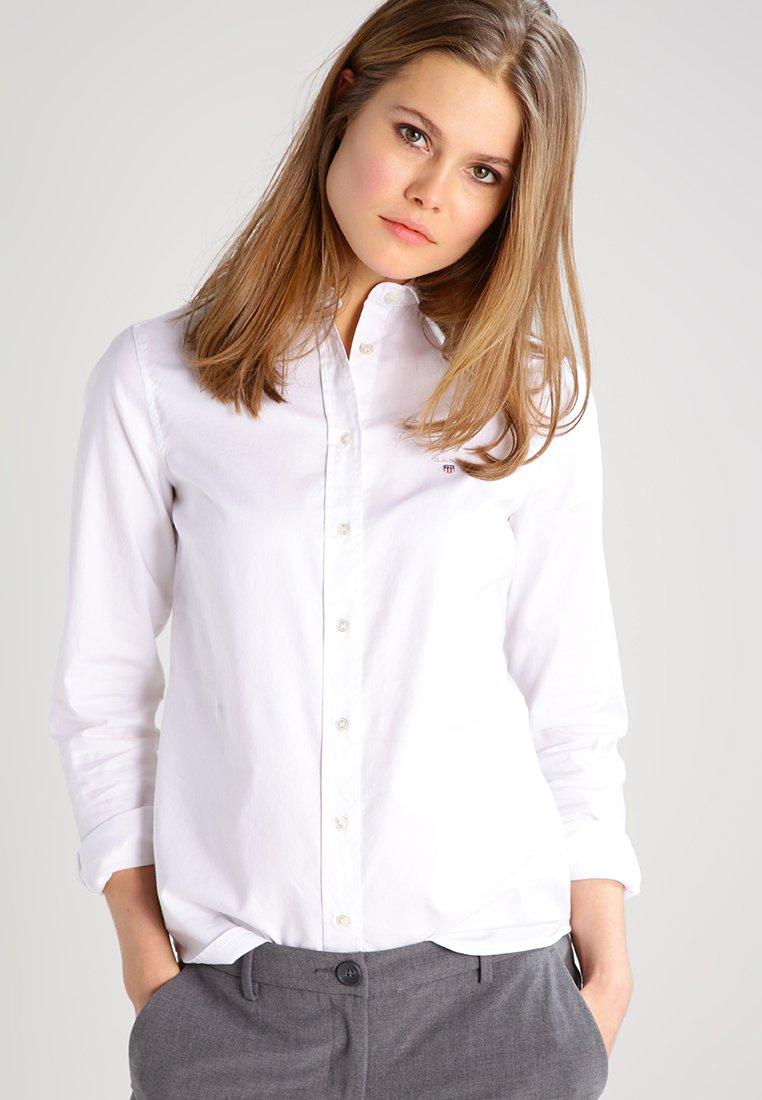 GANT - Button-down blouse - white