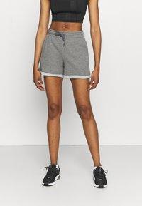 ONLY Play - ONPARETHA JAZZ  - Sports shorts - medium grey melange/dark grey - 0