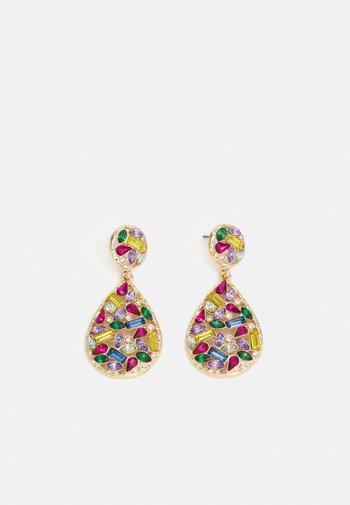 PCAKILA EARRINGS - Earrings - gold-coloured/multi