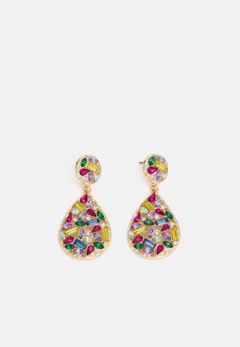 Pieces - PCAKILA EARRINGS - Earrings - gold-coloured/multi