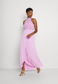 Lace & Beads - STELLA MAXI - Occasion wear - orchid bouquet - 1