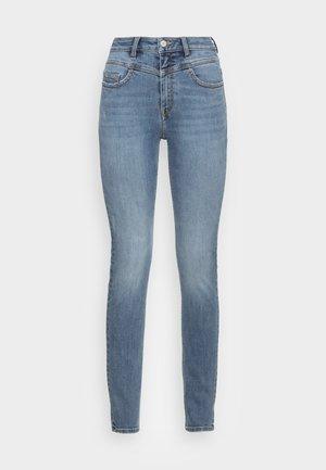 SHAPING - Skinny džíny - blue medium wash