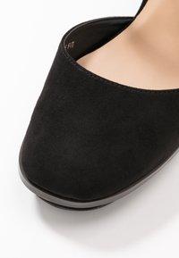 Simply Be - WIDE FIT BELLONA - High heels - black - 5