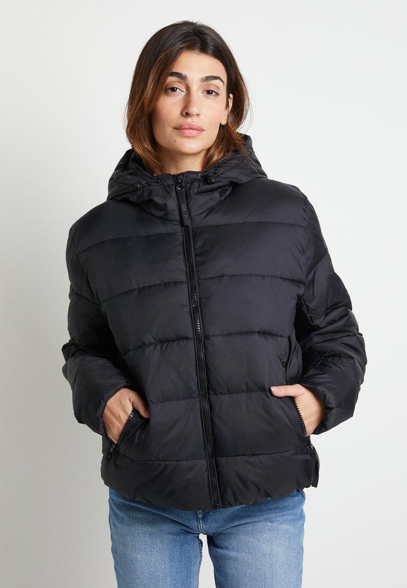 Pepe Jeans - DUA LIPA X PEPE JEANS - Winter jacket - black