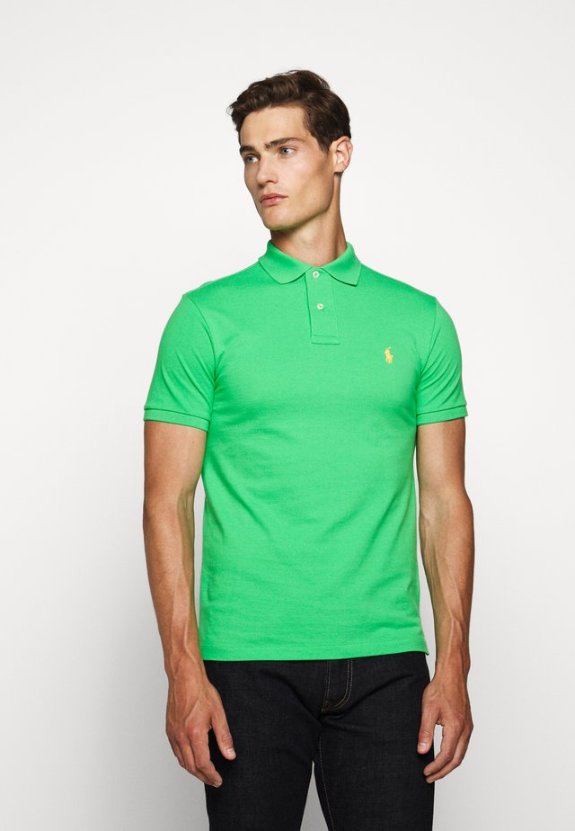 SLIM FIT MODEL - Polo - neon green