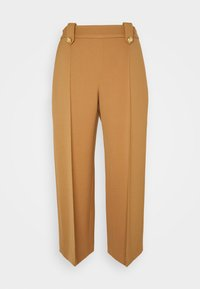 Mulberry - PATRICIA TROUSERS WOVEN - Trousers - dark beige - 0