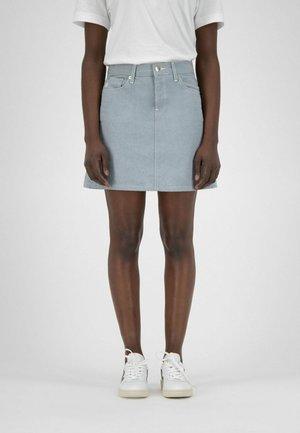 Denim skirt - undyed